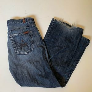 7 For All Mankind A pocket relaxed fit jeans